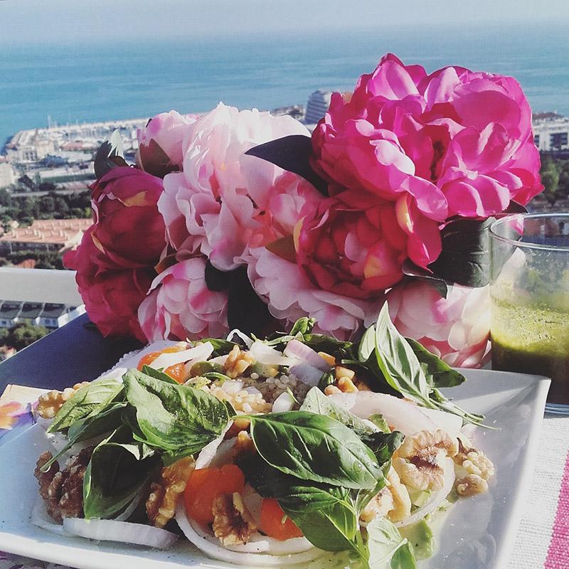 alimentación consciente y vegana