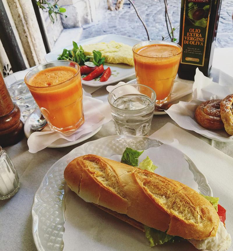 roma y sus desayunos romanos