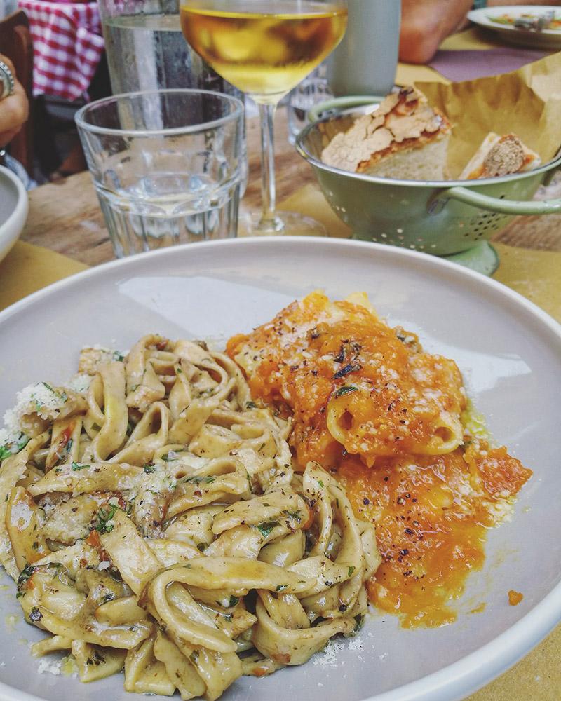 comer en trastevere roma