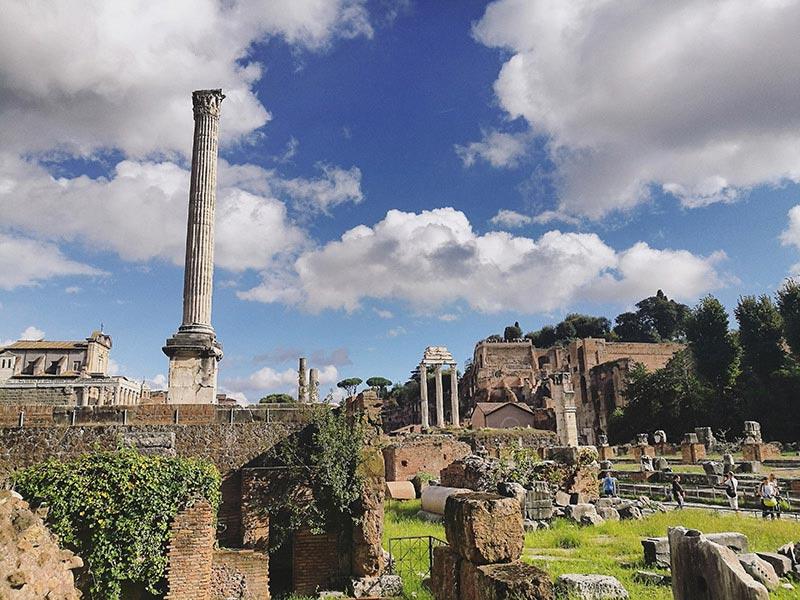 Roma, la ciudad eterna y el Foro Romano