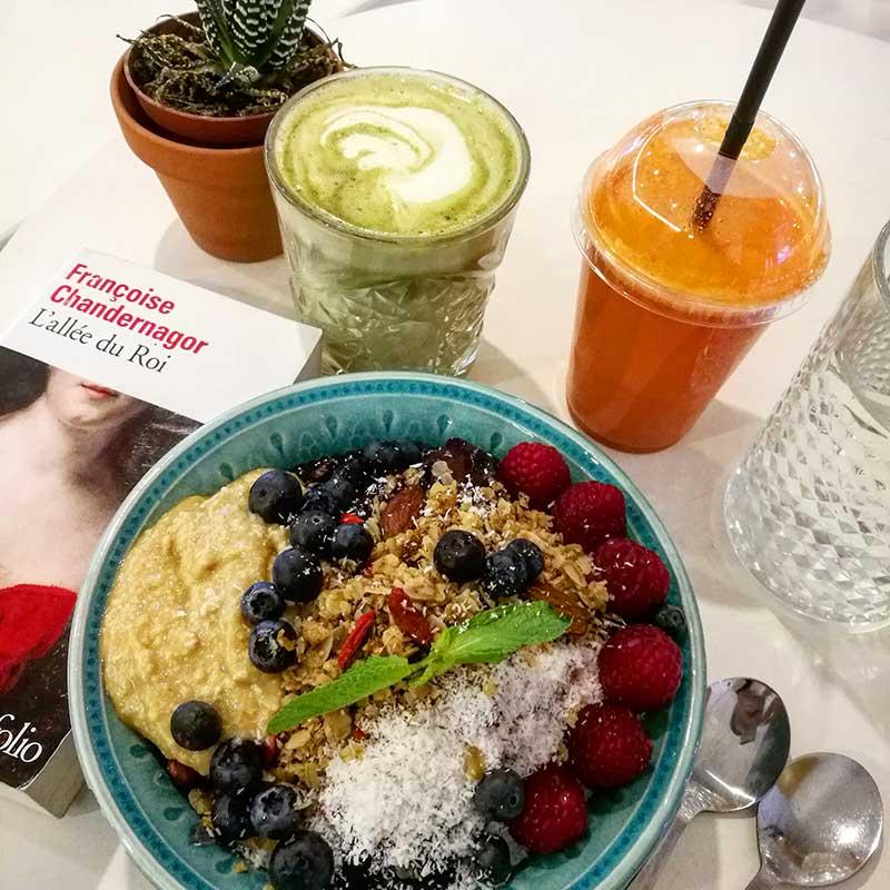 Stockholm vegan breakfast