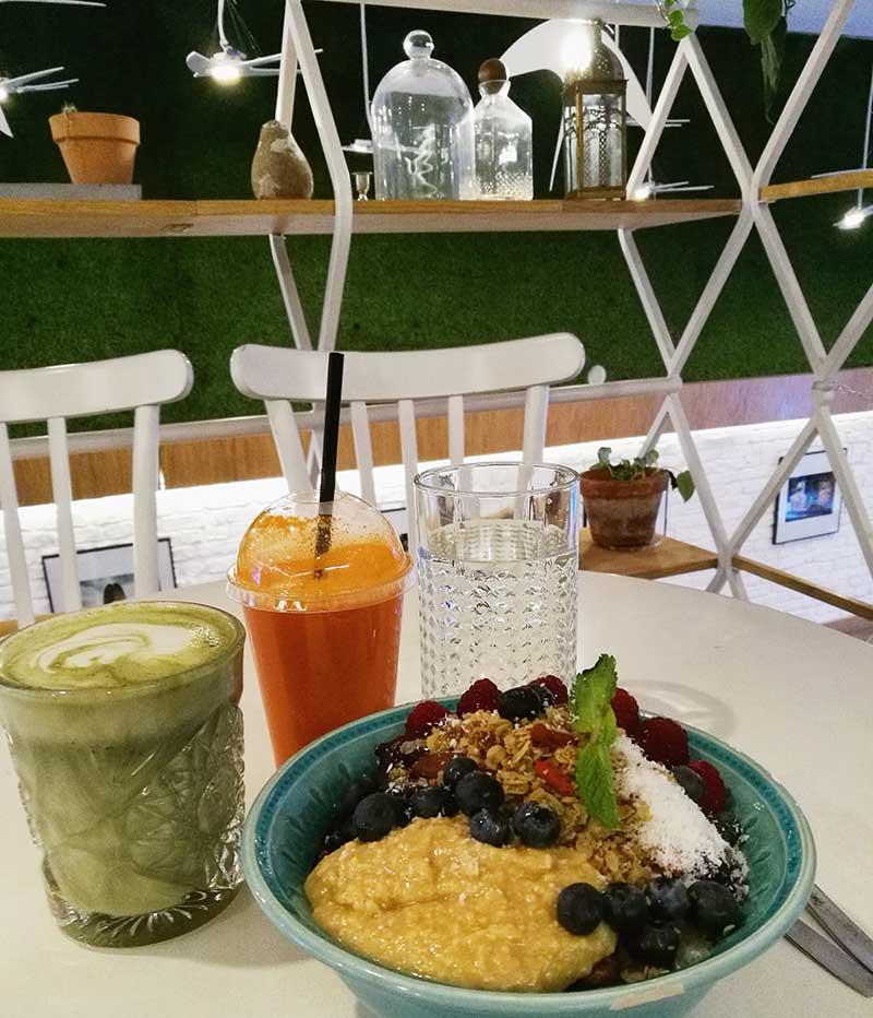 Ser vegano en Estocolmo: smoothie bowls