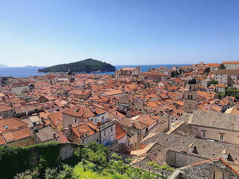 Dubrovnik, the city wall