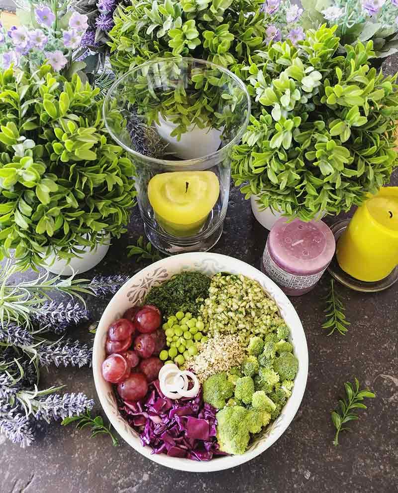 Pesto de col kale: salsa vegana