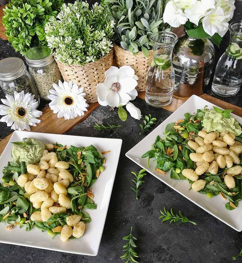 Pesto de aguacate y macadamia: receta